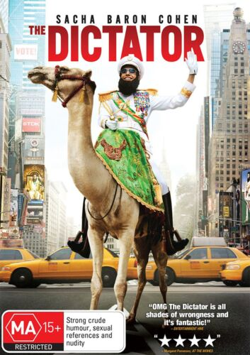 The Dictator DVD Region 4 NEW