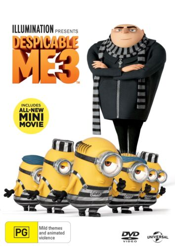 Despicable Me 3 DVD Region 4 NEW