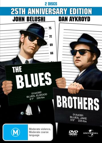 The Blues Brothers DVD Region 4 NEW