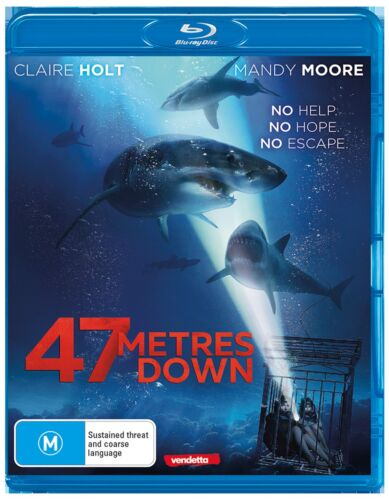 47 Metres Down Blu-ray Region B NEW