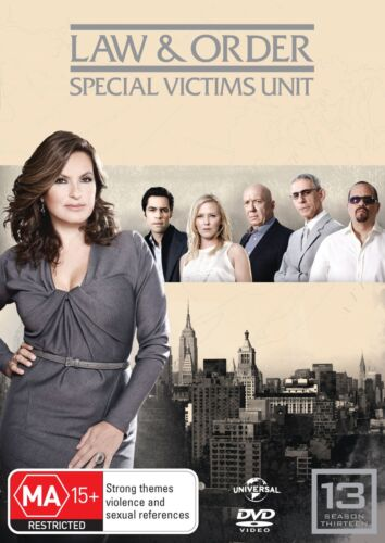 Law and Order Special Victims Unit Season 13 DVD Region 4 NEW