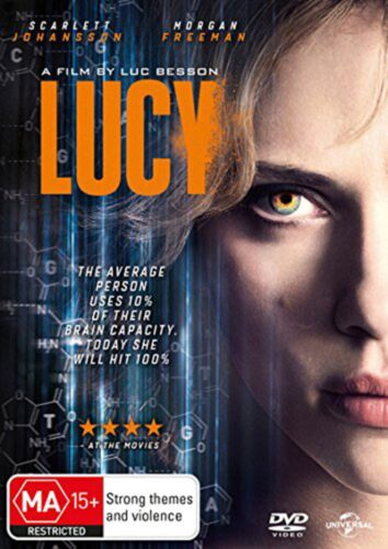 Lucy DVD Region 4 NEW