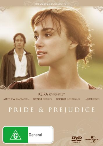 Pride and Prejudice DVD Region 4 NEW