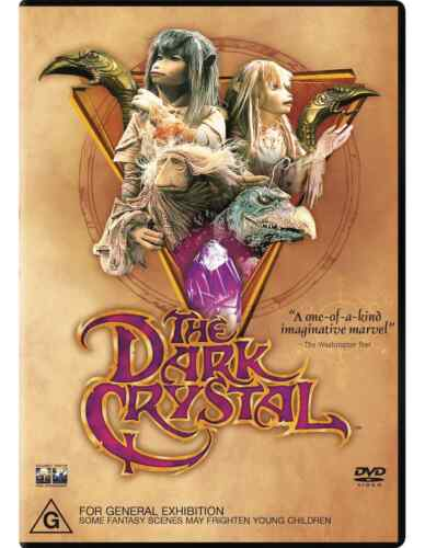 The Dark Crystal DVD Region 4 NEW