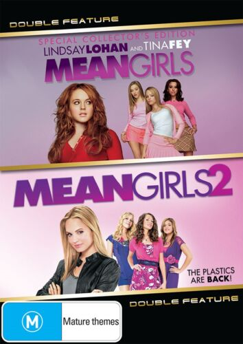 Mean Girls / Mean Girls 2 DVD Region 4 NEW