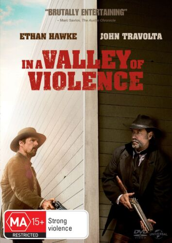 In a Valley of Violence DVD Region 4 NEW