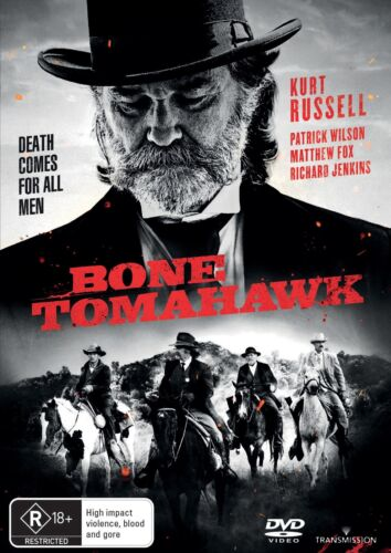 Bone Tomahawk DVD Region 4 NEW