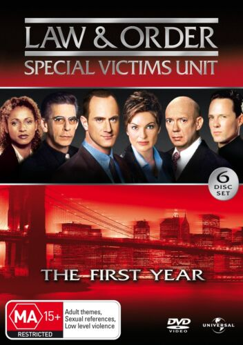 Law and Order Special Victims Unit Season 1 Series One DVD Region 4 NEW