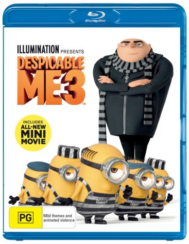 Despicable Me 3 Blu-ray Region B NEW