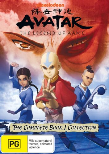 Avatar The Last Airbender The Complete Book 1 Collection DVD Region 4 NEW