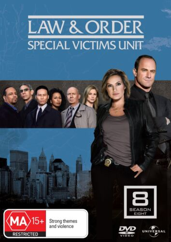 Law and Order Special Victims Unit Season 8 DVD Region 4 NEW