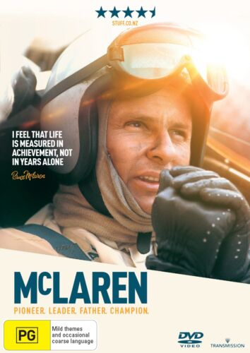 McLaren DVD Region 4 NEW