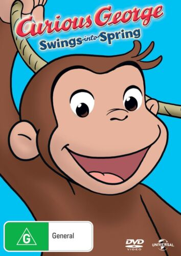 Curious George Swings Into Spring DVD Region 4 NEW