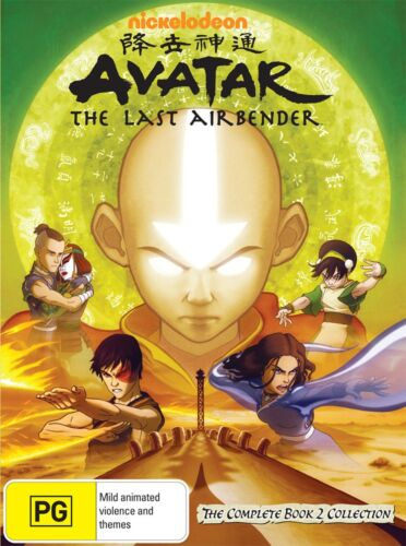 Avatar The Last Airbender The Complete Book 2 Collection DVD Region 4 NEW