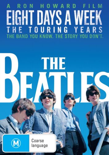 The Beatles Eight Days a Week The Touring Years DVD Region 4 NEW