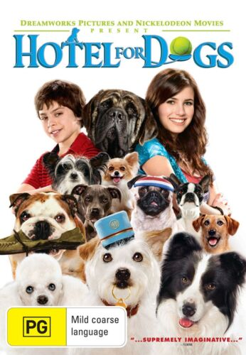 Hotel for Dogs DVD Region 4 NEW