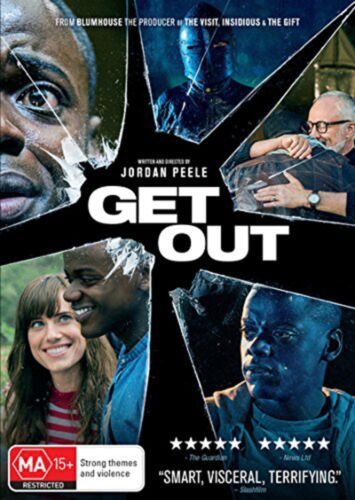 Get Out DVD Region 4 NEW