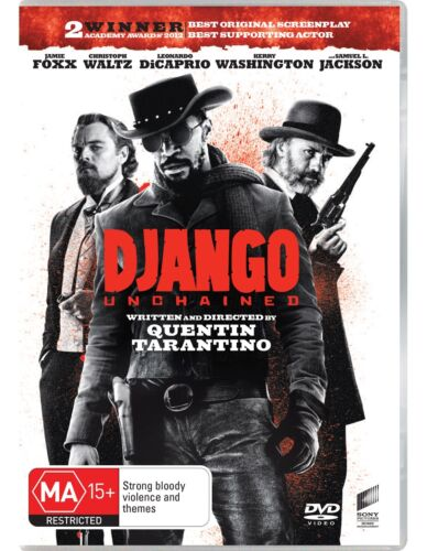 Django Unchained DVD Region 4 NEW