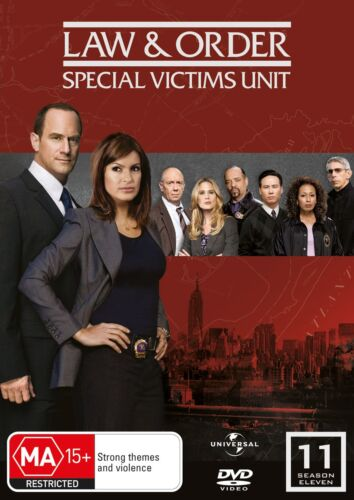 Law and Order Special Victims Unit Season 11 DVD Region 4 NEW