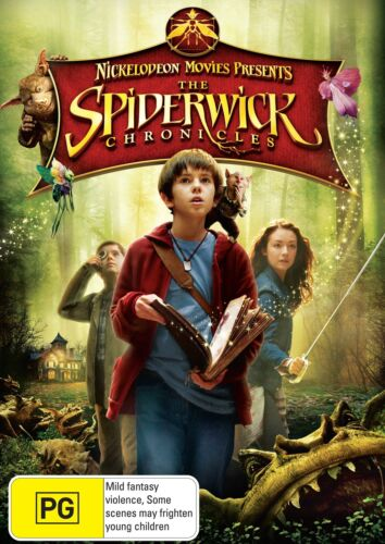 The Spiderwick Chronicles DVD Region 4 NEW