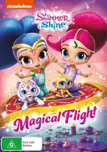 Shimmer and Shine Magical Flight DVD Region 4 NEW