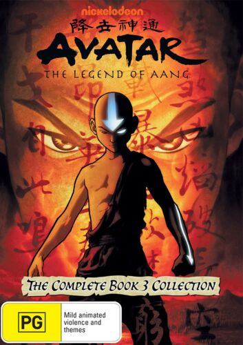 Avatar The Last Airbender The Complete Book 3 Collection DVD Region 4 NEW