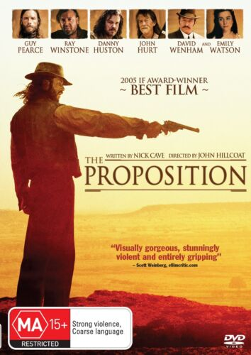 The Proposition DVD Region 4 NEW