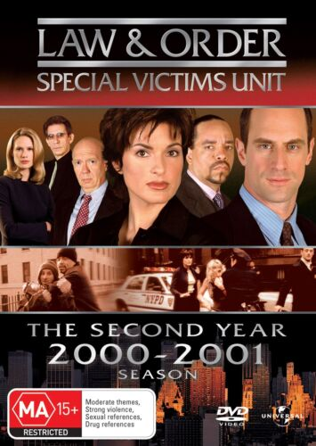 Law and Order Special Victims Unit Season 2 Series Two DVD Region 4 NEW