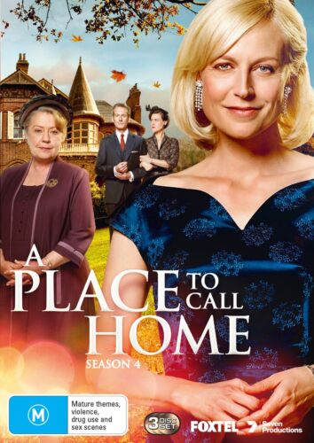 A Place to Call Home Series 4 Season Four DVD Region 4 NEW