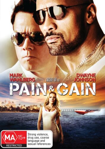 Pain and Gain DVD Region 4 NEW