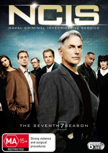NCIS The Seventh Season 7 Series Seven DVD Region 4 NEW