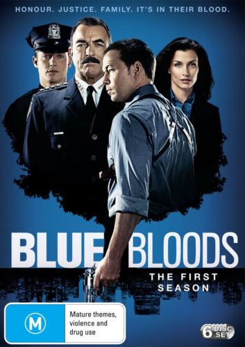 Blue Bloods The First Season 1 Series One DVD Region 4 NEW