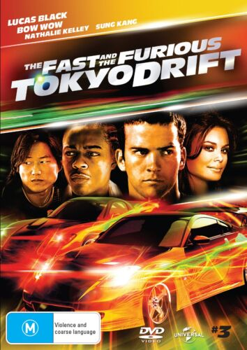 The Fast and the Furious Tokyo Drift DVD Region 4 NEW