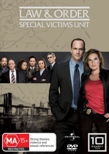 Law and Order Special Victims Unit Season 10 DVD Region 4 NEW