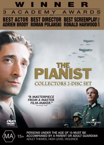 The Pianist DVD Region 4 NEW