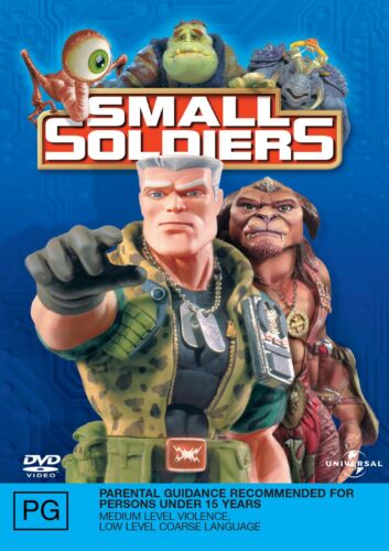 Small Soldiers DVD Region 4 NEW