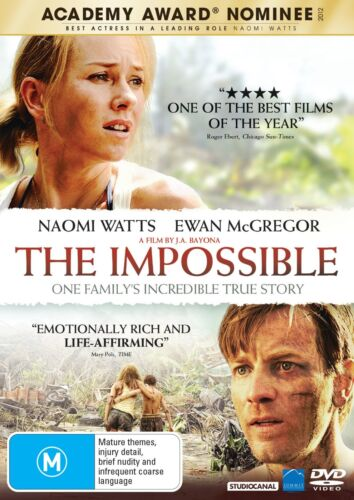 The Impossible DVD Region 4 NEW