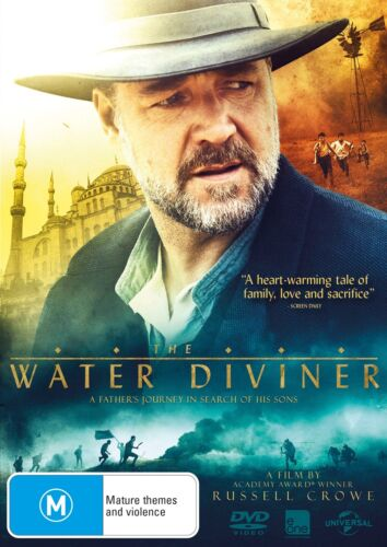 The Water Diviner DVD Region 4 NEW
