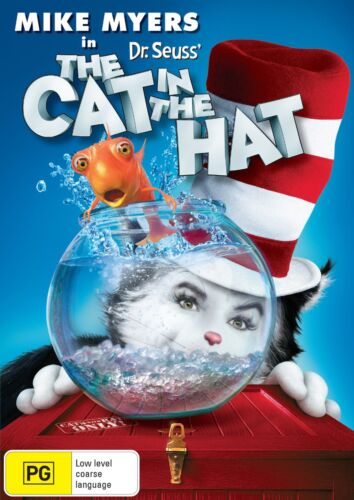 The Cat in the Hat DVD Region 4 NEW