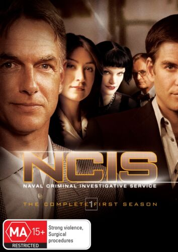 NCIS The Complete First Season 1 Series OneDVD Region 4 NEW