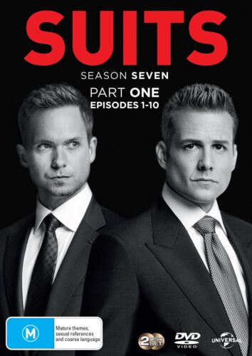 Suits Season 7 Series Seven Part One DVD Region 4 NEW