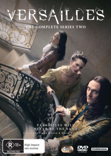 Versailles The Complete Series 2 Season Two DVD Region 4 NEW