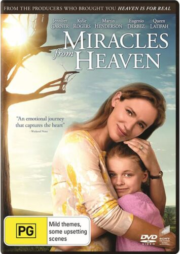 Miracles from Heaven DVD Region 4 NEW