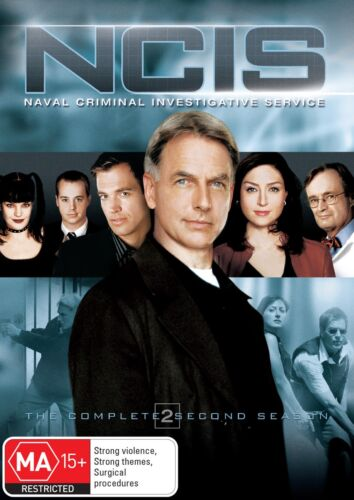 NCIS The Complete Second Season 2 Series Two DVD Region 4 NEW