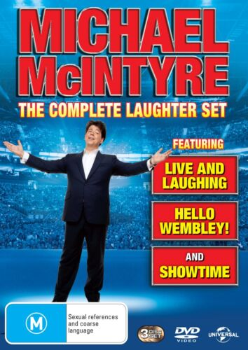 Michael McIntyre Live and Laughing / Hello Wembley / Showtime DVD Region 4 NEW