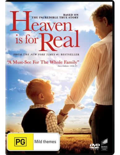 Heaven Is for Real DVD Region 4 NEW