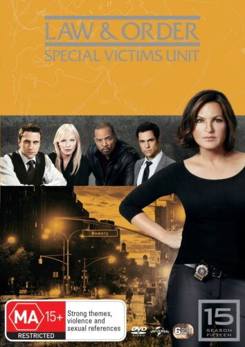 Law and Order Special Victims Unit Season 15 DVD Region 4 NEW