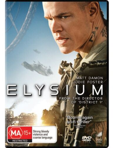 Elysium DVD Region 4 NEW
