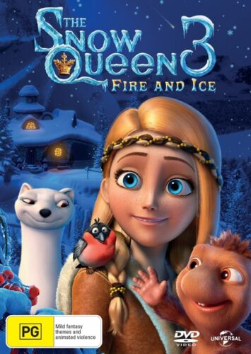 The Snow Queen 3 Fire and Ice DVD Region 4 NEW