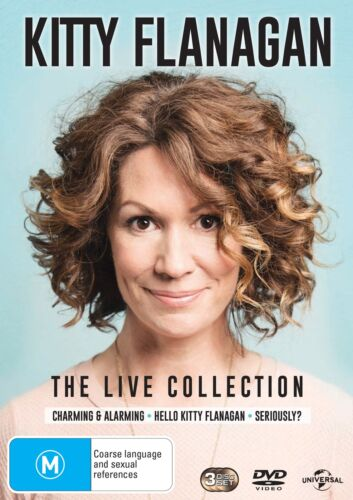 Kitty Flanagan The Live Collection DVD Region 4 NEW